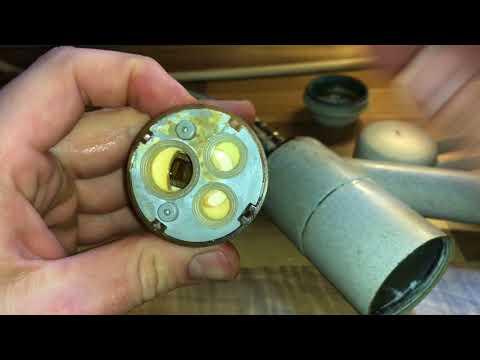 Mischbatterie wie sie funktioniert und Bauteile erklärt Mischarmatur Demontage Anleitung
