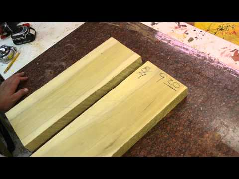 Luthier Wood Review: Poplar for guitar body blank and unappreciated cheap wood tonewood