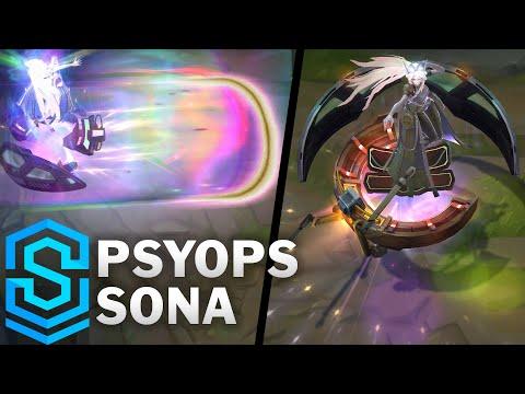 PsyOps (心理戰) 索娜 / 造型預覽