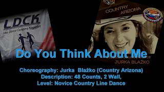 Linedance Do You Think Abbout Me (Teach & Demo)