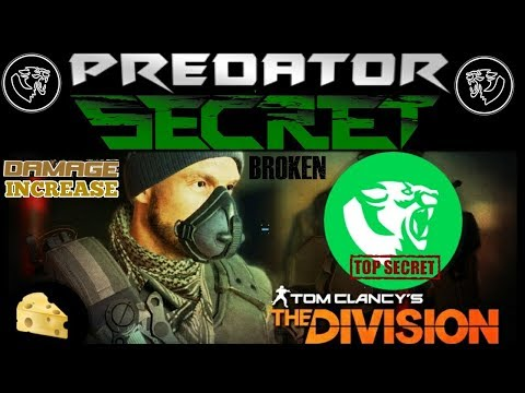 The Division 1.8.1  PRED DAMAGE SECRET | EXPLOIT in LASTSTAND | WEPON TALENT CHEESE