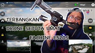 Eachine E520s Drone GPS Murah 1 Jutaan Kamera Full HD