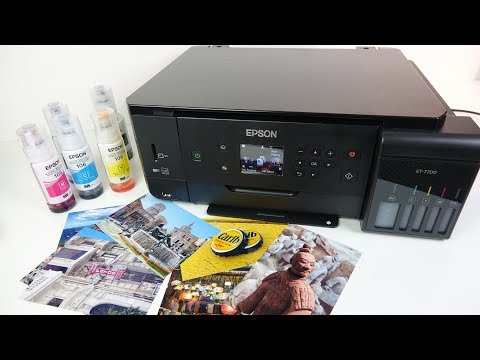 Epson ET 7700 Ecotank REVIEW – Cheap Photos From an Inkjet printer!?
