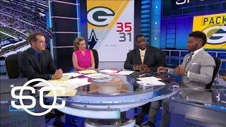 Clark: Aaron Rodgers is the 'best quarterback ever' | SportsCenter | ESPN