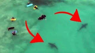 Top 10 CREEPIEST VIDEOS Caught by DRONES