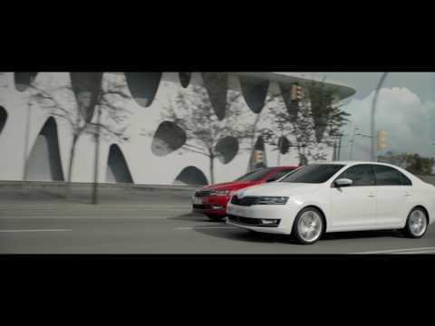 Skoda  Rapid Лифтбек класса B - рекламное видео 3