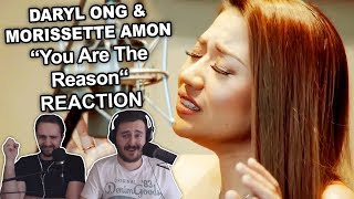 """""""Daryl Ong & Morissette Amon - You Are The Reason"""" Singers Reaction"""