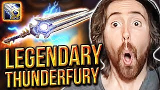 Asmongold BEATS Classic WoW & Gets THUNDERFURY, Blessed Blade of the Windseeker Legendary