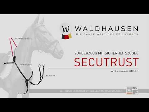 Waldhausen Produktfilm Vorderzeug mit Sicherheitszügel Secutrust