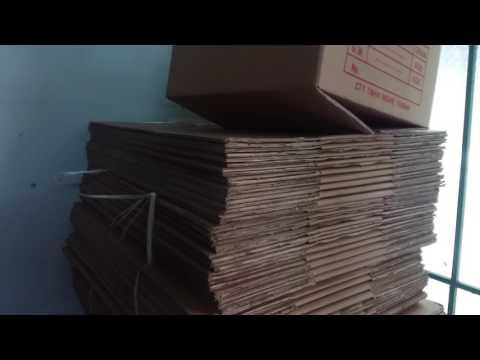Thùng giấy carton thanh lý 50x40x20.