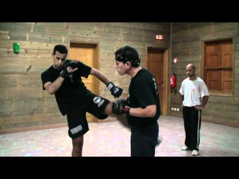 Jeet Kune Do Enterring to Kicking to Neck Lock