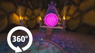 Панорама пещеры, видео можно вращать! (видео 360°)