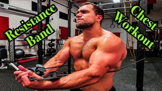 Intense 5 Minute Resistance Band Chest Workout by Anabolic Aliens