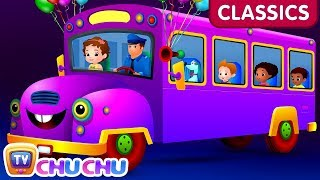 ChuChu TV Classics - Wheels on the Bus Song - Part 1 | Nursery Rhymes and Kids Songs