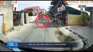 Camera nóng | Bức xúc với chiêu trò ăn vạ trên đường | LONG AN TV