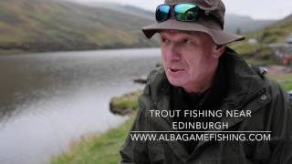 USA Testimony - trout fishing near Edinburgh