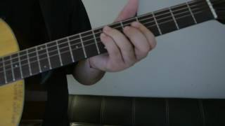 """Mike Posner   """"The Way It Used To Be"""" How To Play Guitar (Easy!! Guitar Tutorial!!)"""