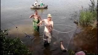 Ловля толстолобика на планктон летом 2016 года