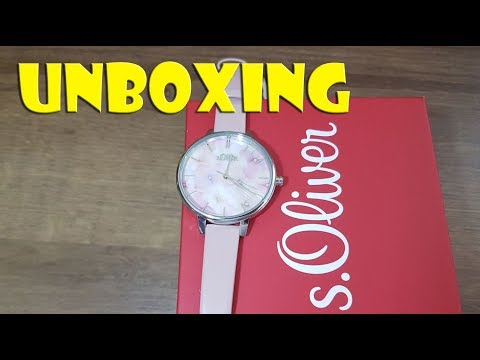 UNBOXING: s.Oliver Damenuhr - ladies watch first look
