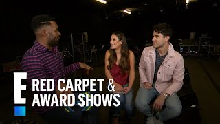 Lea Michele & Darren Criss Play Hilarious Game With E! | E! Red Carpet & Award Shows