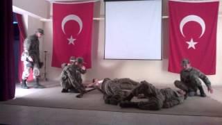 preview picture of video 'Anamur Endüstri Meslek Lisesi 18 Mart Tiyatrosu(Çanakkale Geçilmez)'