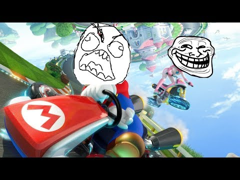Road to Mario Kart 8 funny/rage moments montage