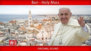 Pope Francis-Bari-Holy Mass   2020-02-23