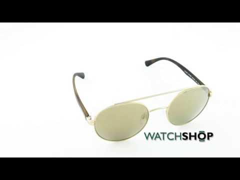 Emporio Armani Men's EA2051 Sunglasses (EA2051-30135A-53)
