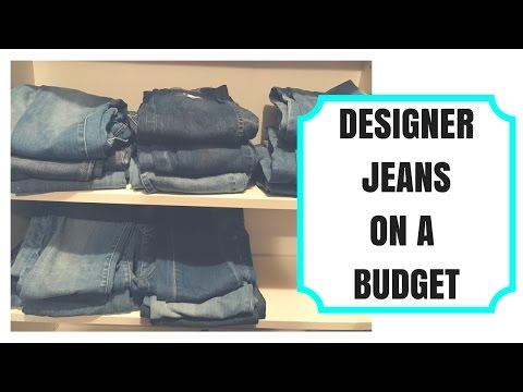 How To Score Cheap Designer Jeans!!!! | My Top 5 Tips