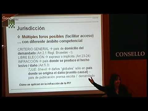 Dereitos de autor: lei aplicable e xurisdición competente na era dixital