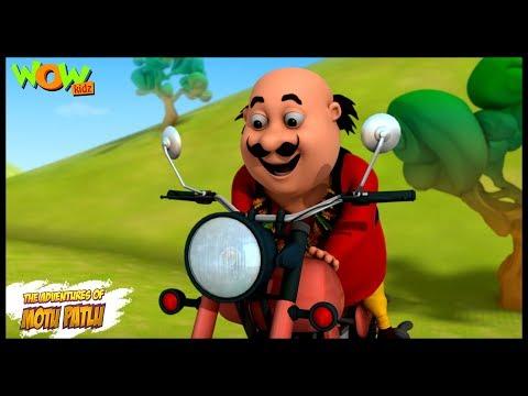 Motu Patlu Cartoons In Hindi |  Animated cartoon | Motu ki bike | Wow Kidz