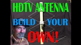 HOW TO -- Make a Gray Hoverman UHF antenna DIY --- EASY BUILD HIGH