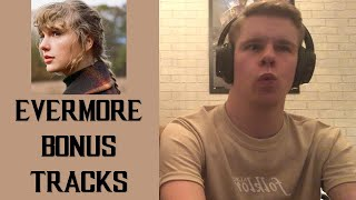 Taylor Swift - Evermore (Bonus Tracks) Reaction