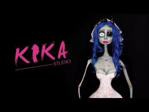 body painting corpse bride halloween special by kika studio