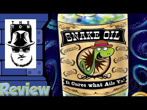 Snake Oil Review - with Tom Vasel