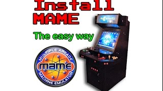 How to install MAME the easy way