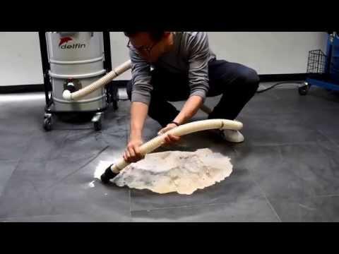 Industriesauger vs 50 Kilo Mehl | Delfin Mistral 202 DS