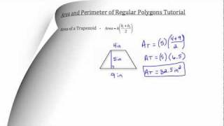 Area and Perimeter of Regular Polygons-Textbook Tactics