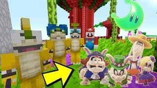 Minecraft Switch - Super Mario Series - BROODALS VS KOOPALINGS BATTLE [FIGHT] [339]