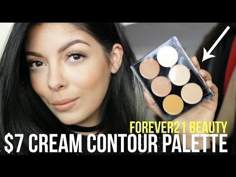 FOREVER21 BEAUTY | $7 CONTOUR PALETTE REVIEW + TUTORIAL | SCCASTANEDA