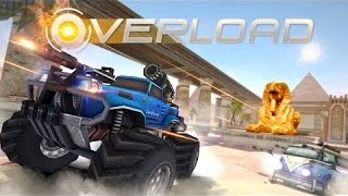 OVERLOAD 3D MOBA CAR SHOOTING GAME Android / iOS Gameplay Trailer