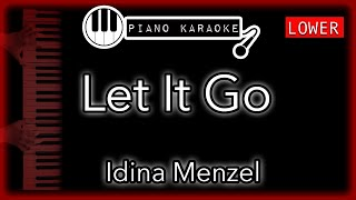 "Let It Go   Idina Menzel (from ""Frozen"" Soundtrack)    Piano Karaoke   LOWER"