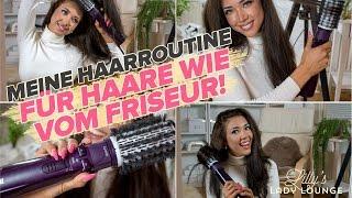Meine Haarroutine mit Rundbürste/BaByliss/Haare wie vom Friseur
