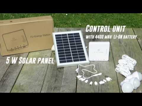 Sistema fotovoltaico Completo