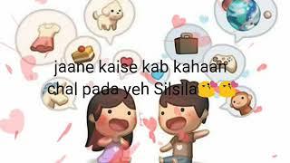 Jane kaise Shab dhali status song - YouTube