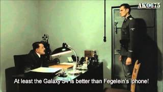 Hitler is informed of the Samsung Galaxy S4
