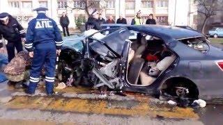 Самая тяжёлая авария в Севастополе в 2016 году