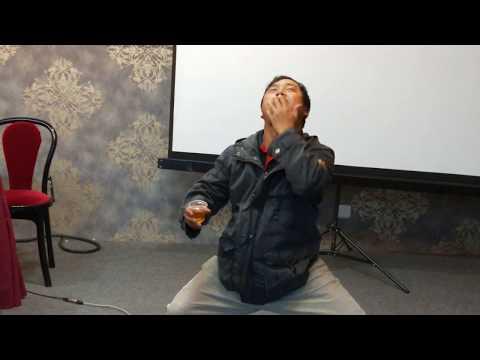 Mizo Drunken Master Dance.