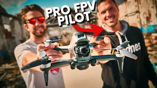 What If A Real Pro FPV Pilot Flies the DJI FPV Drone? | Reactions and Feelings