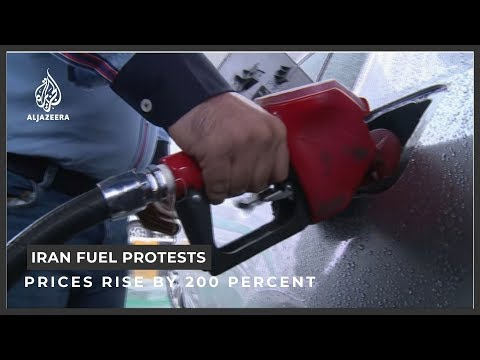Iran protests spike over fuel price rise